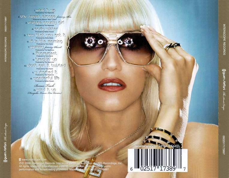 Gwen Stefani - The sweet escape - retail cd - back