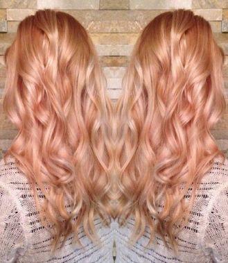 Strawbery blonde