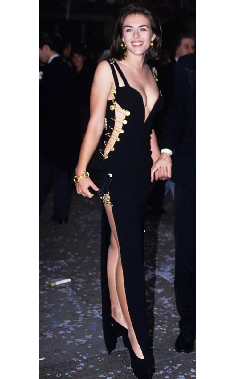 """That dress"" Elizabeth Hurley"
