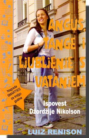 knjiga Angus Tange i ljubljenje sa vatanjem